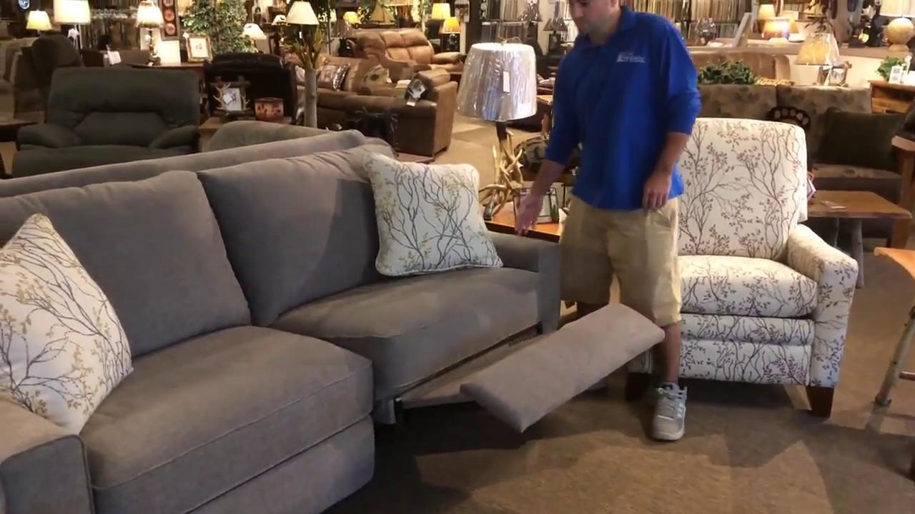 LaZBoy Power Reclining Sofa  YouTube