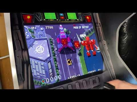 SW arcade1up mod from Retro Lizard's Custom Arcades