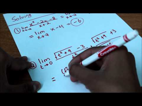 Calculus - More Limits and Derivatives Episode 2 Part 1
