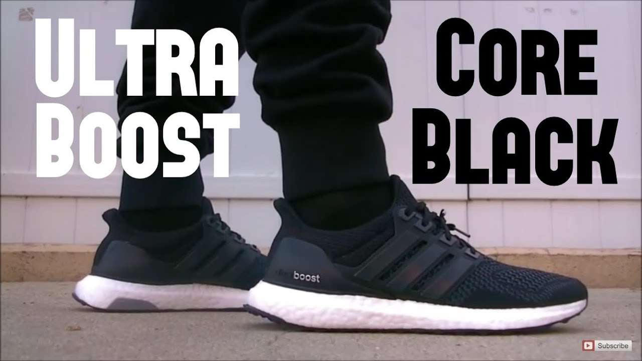 Adidas Boost Black On Black