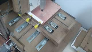 Tutorial CNC Caseira # 1º Usinagem PCB