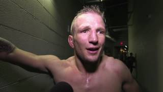 UFC 207: TJ Dillashaw Backstage Interview