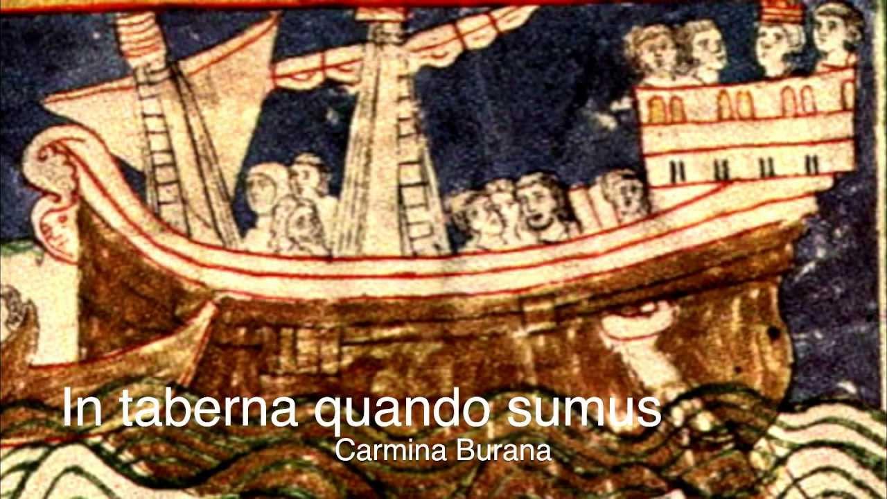 Carmina Burana (Anon.11-13th c.) - CB 196: In taberna