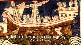 Carmina Burana (Anon.11-13th c.) - CB 196: In taberna quando sumus