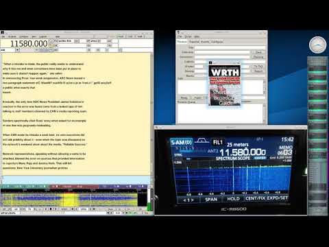 Shortwave Radiogram Dec 17 2017 on 11580Khz Shortwave Radio R8600