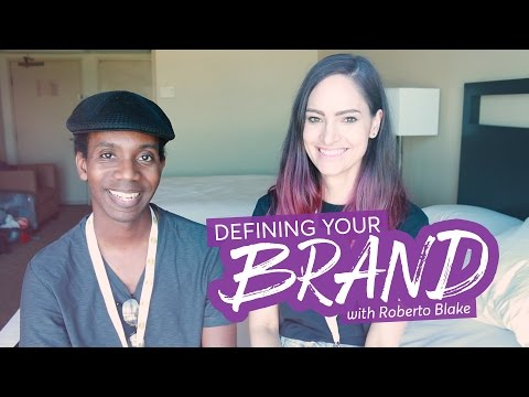 Advice for defining your brand - with Roberto Blake | CharliMarieTV