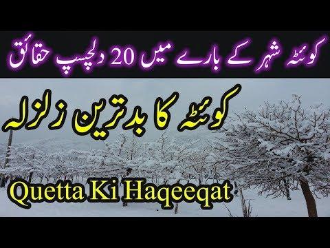 Quetta City Information 20 Amazing Facts About Quetta Ki Kahani Quetta History Urdu/Hindi