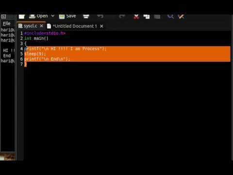 System Calls in Linux - Basics