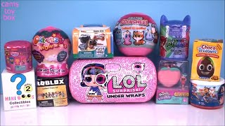 Unboxing Surprise TOYS LOL Under Wraps Roblox Shopkins Mini BOOS Puppy DOG PALS Paw Patrol DOLLS