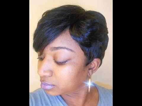 27 Piece Quick Weave FGrogan  YouTube - 27 Piece Hairstyles With Invisible Part