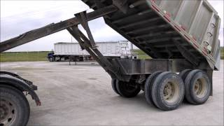 1992 Mate semi-frameless 26' aluminum end dump trailer for sale | sold at auction May 29, 2014