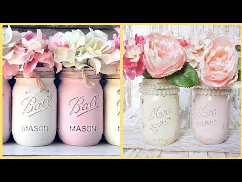 mason-jars-craft-ideas-||-diy-mason-jars-craft-||-craft-for-hiome-decor