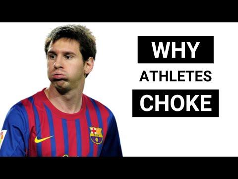 Why Athletes Choke Under Pressure | Sports Psychology | Optimal Level of Arousal