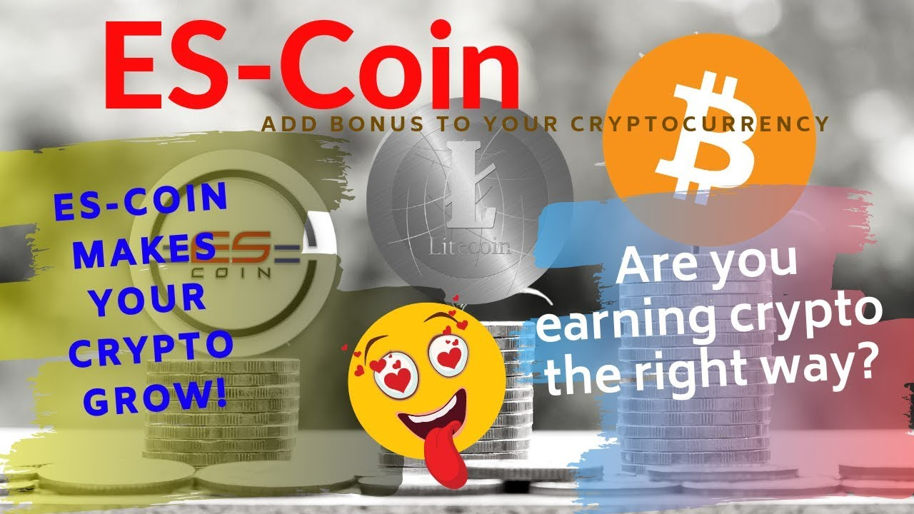 Bonus for Bitcoin| Are you earning Crypto the right way?| Easy way to earn bitcoin | What is EsCoin?