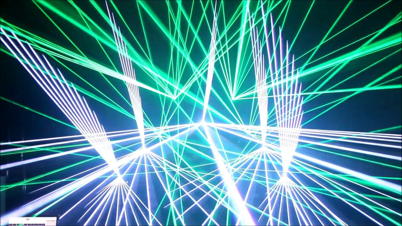 Laser Show - Armin Van Buuren (Mirage) - Pangolin and ECS