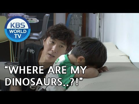 Seungjae Where are my dinosaurs?!! The Return of Superman20181014