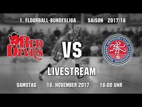 Floorball-Bundesliga 2017/18: Red Devils Wernigerode - UHC Weißenfels (18.11.2017)