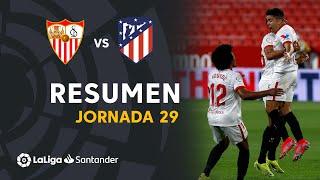 Resumen de Sevilla FC vs Atlético de Madrid (1-0)