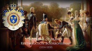 """Bourbon Restoration (1814–1830) Unofficial Anthem """"Où peut-on être mieux qu'au sein de sa famille"""""""