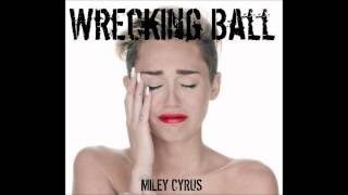 Miley Cyrus - Wrecking Ball Karaoke / Instrumental with lyrics