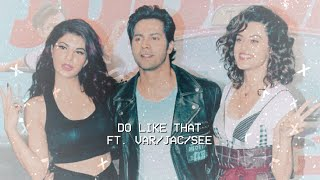 ❥ varun, jacqueline & taapsee | do like that.
