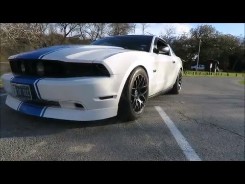 Supercharged 2012, 5.0 Mustang.
