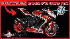 2019 MV Agusta F3 800 RC | Unboxing