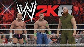 vuclip WWE 2K15 Gameplay en PS4 -Tag Team Match - Equipo Cena Vs Equipo Autoridad