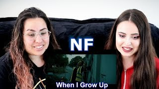 HONEST OPINION!! Two Sisters REACT To NF - When I Grow Up!!