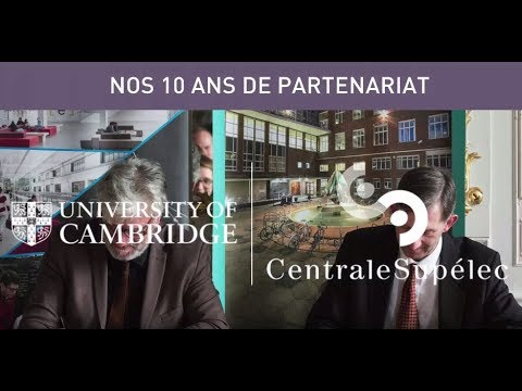 10 ans de partenariat avec Cambridge