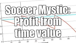 Football trading - Using Soccer Mystic to profit from time value