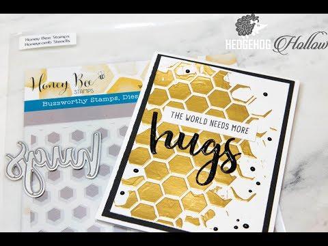 Working With Transfer Gel, Foil & UTEE: Rubber Stamping & Handmade Cardmaking Scrapbooking Tutorial