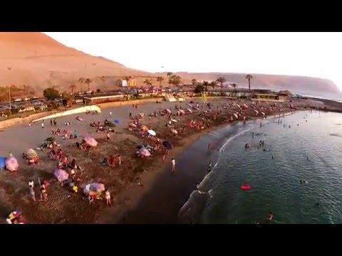 Playa La Lisera, Arica.