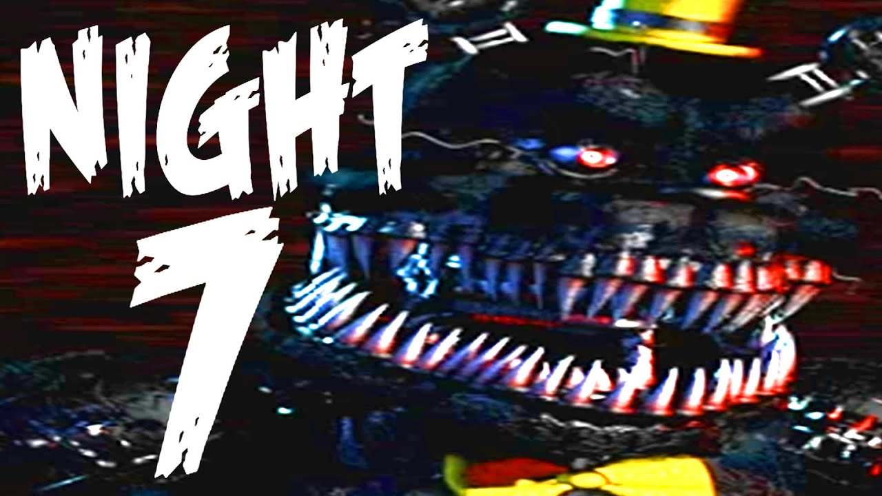 Five Nights at Freddy's 4 NIGHT 7 Gameplay | All Jumpscares (Extra)