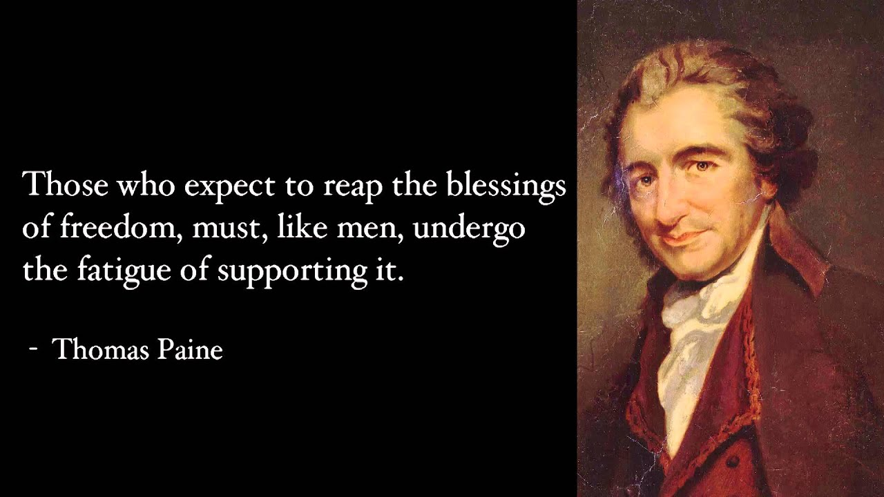 ben franklin and thomas paine Ben franklin is one of those founders most likely to be thought of as a deist now, perhaps that term, in some sense, describes franklin's creed, but not in the same sense that it describes thomas paine's.