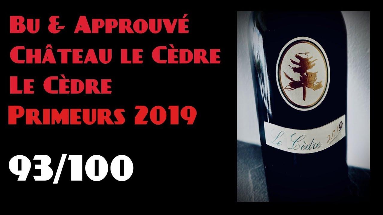 #25 Bu & Approuvé : Château Le Cèdre – Le Cèdre #Cahors Primeurs 2019
