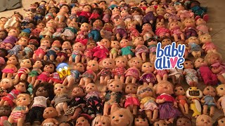 BABY ALIVE Collection 2020 *165 dolls* 😱