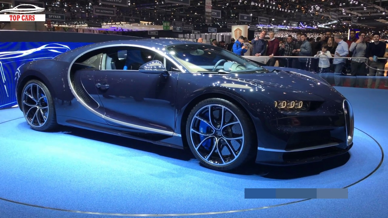top cars   bugatti chiron blue royal carbon - new bugatti model 2017 - awesome