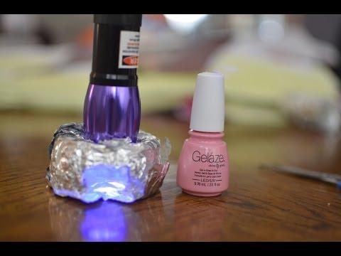 $8 Portable DIY UV/LED Gel Nail Light