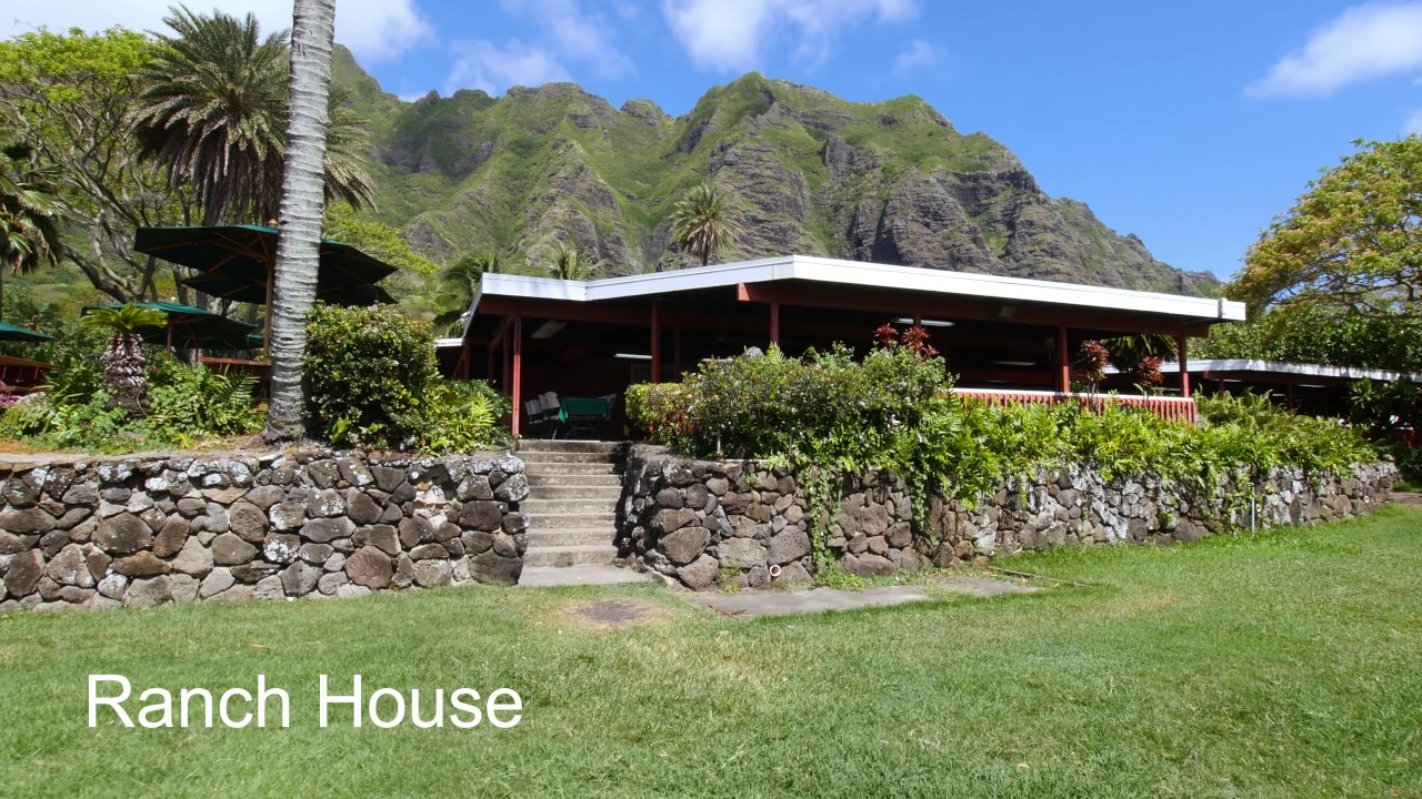 Ranch house at kualoa youtube - What is a ranch house ...