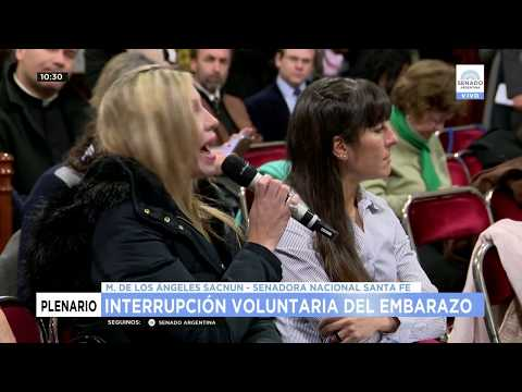 PLENARIO INTERRUPCIÓN VOLUNTARIA DEL EMBARAZO 25-07-18