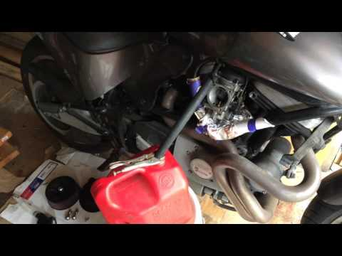 How To Drain A Motorcycle Gas Tank