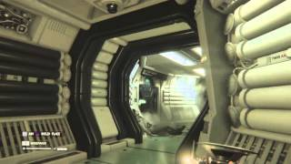Alien: Isolation alien butt very end
