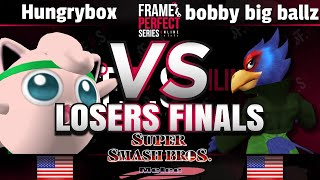 FPS2 Online Losers Finals - Liquid | Hungrybox (Jigglypuff) vs. BBB (Falco) - Smash Melee