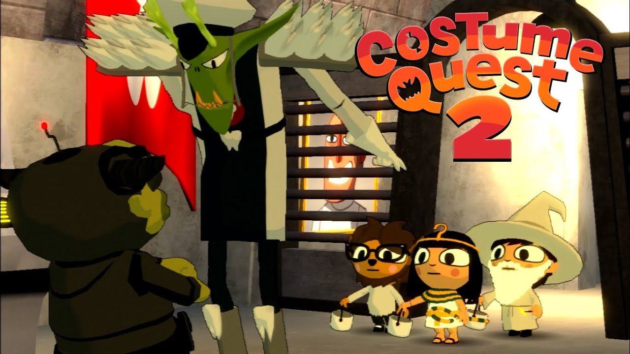 Costume Quest 2- Part 1? - YouTube