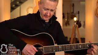 Bourgeois Slope D Advanced Acoustic Guitar Played By Stuart Ryan (Part One)