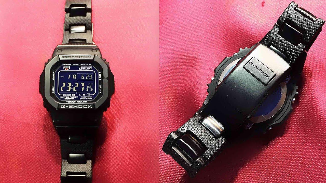 G-supply: casio g shock reimport model solar radio digital watch.