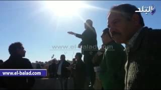 بالفيديو والصور .. وزير الرياضة يتفقد نادي الإسماعيلي الجديد بأرض النخيل