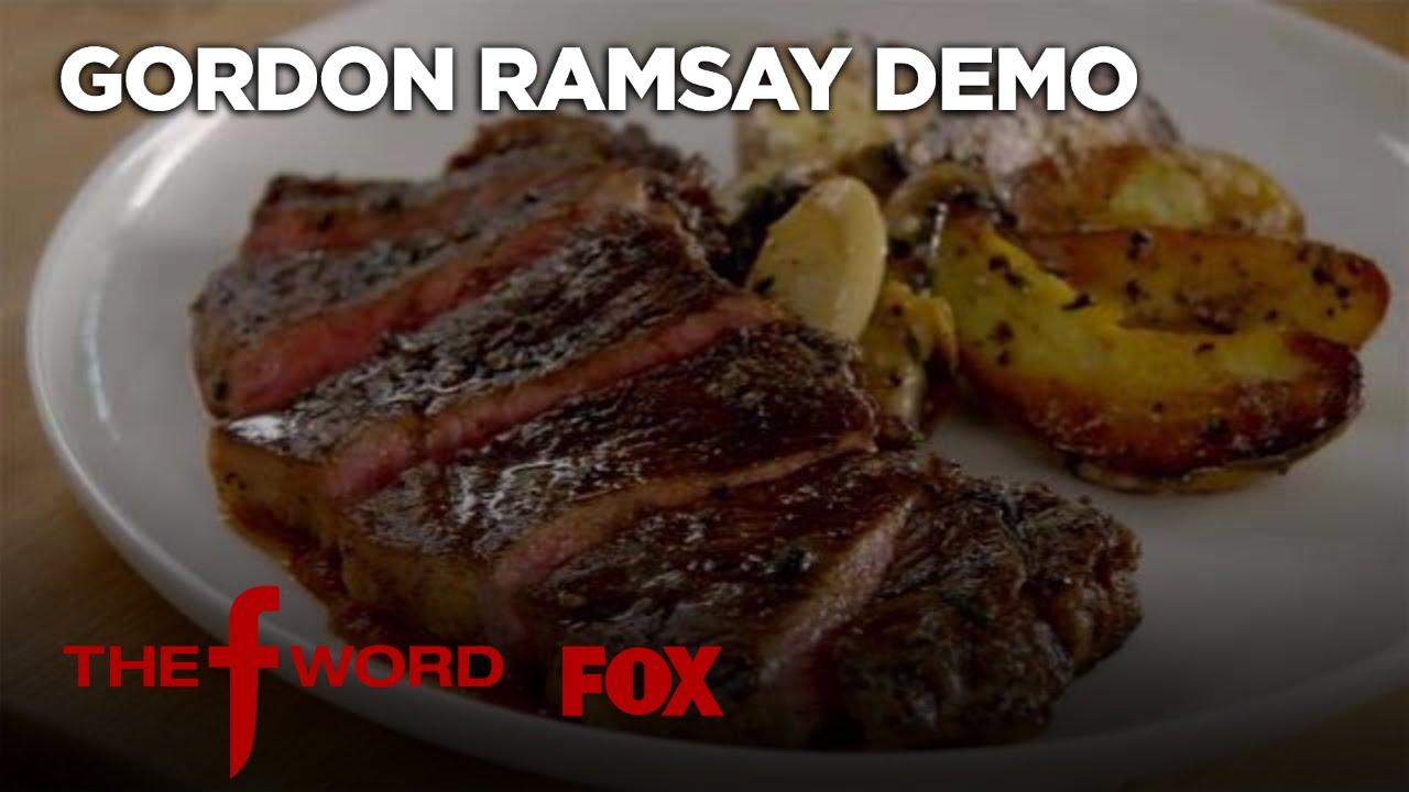 gordon ramsey how to cook a t0bone steak