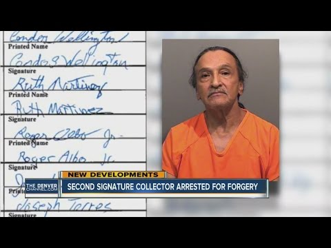 Man arrested in forged signature scheme